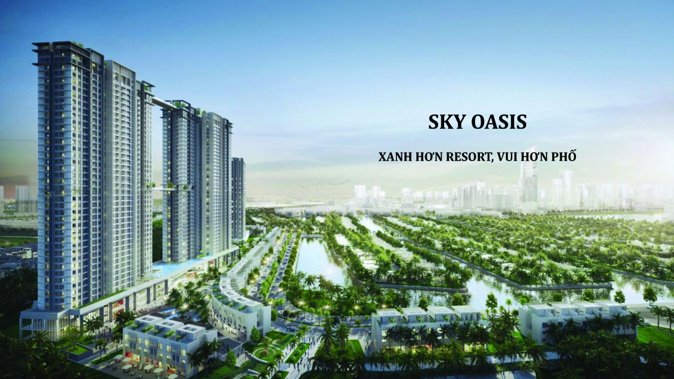 Nô nức  chờ đón giá Chung cư Sky Oasis